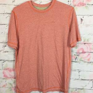 Orvis orange T-shirt large